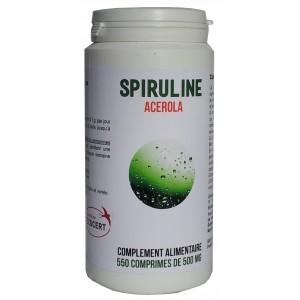 550 comprimés de Spiruline + Acerola
