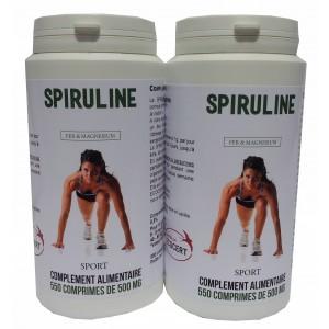 1100 comprimés de spiruline Sport Bio
